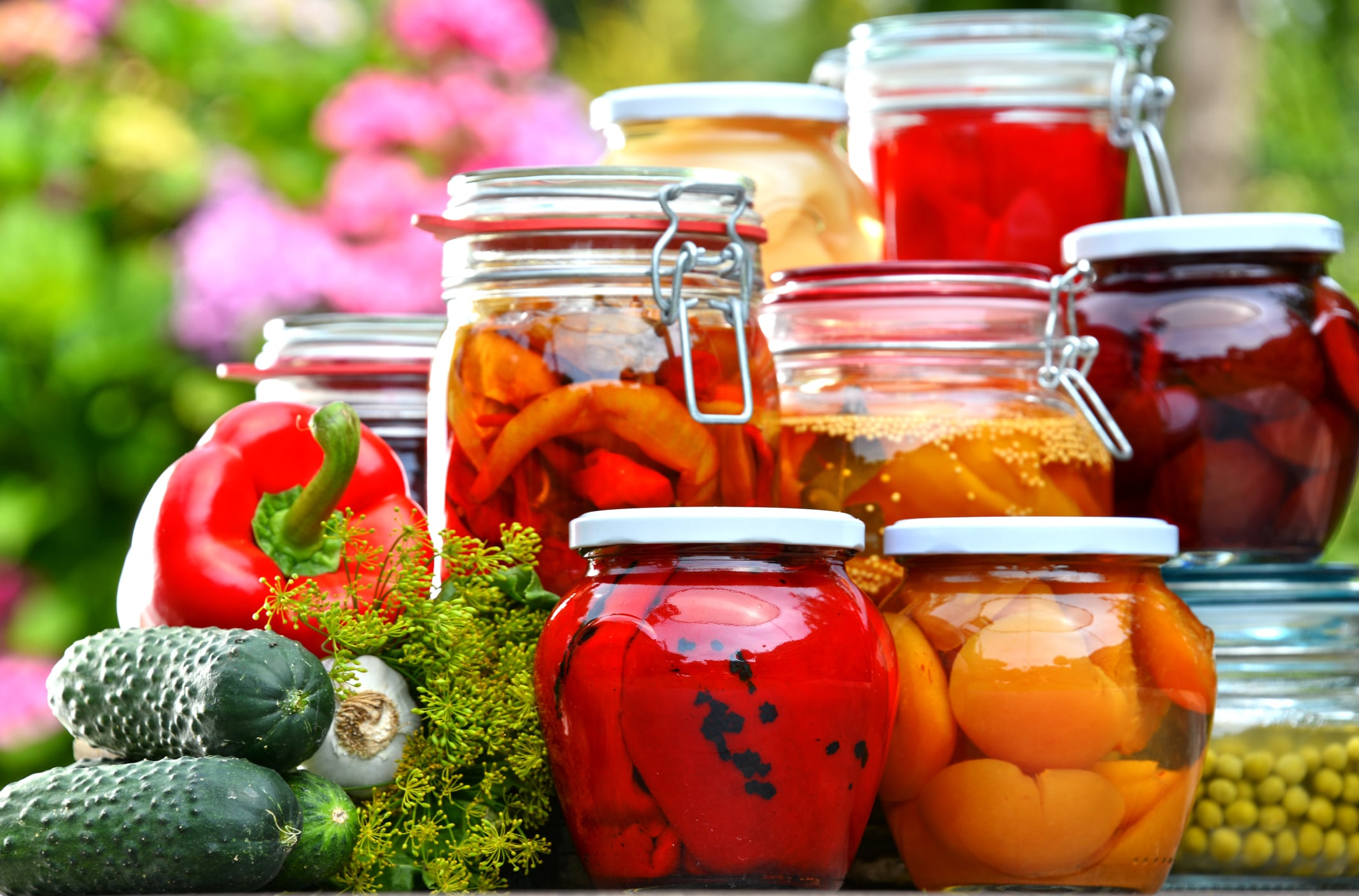 Picture of pickled vegetables