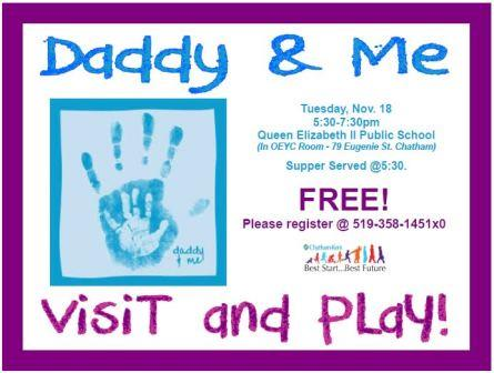 Daddy & Me Playgroup
