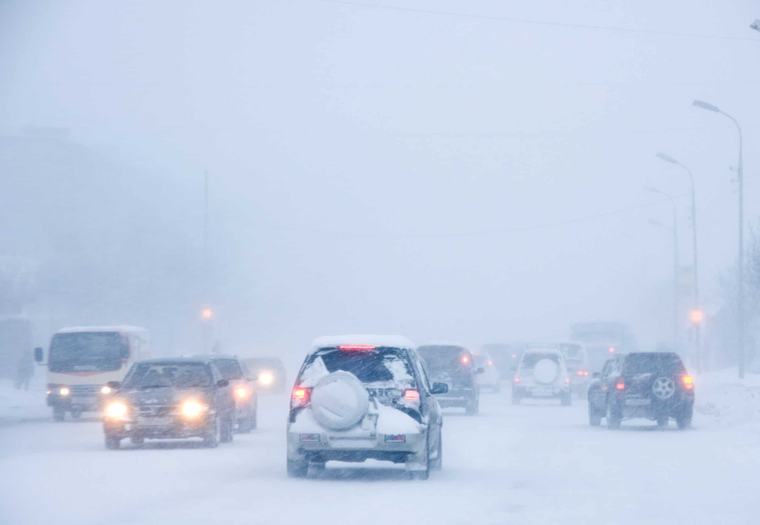 Picture of snowstorm
