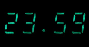 Picture of a digital clock