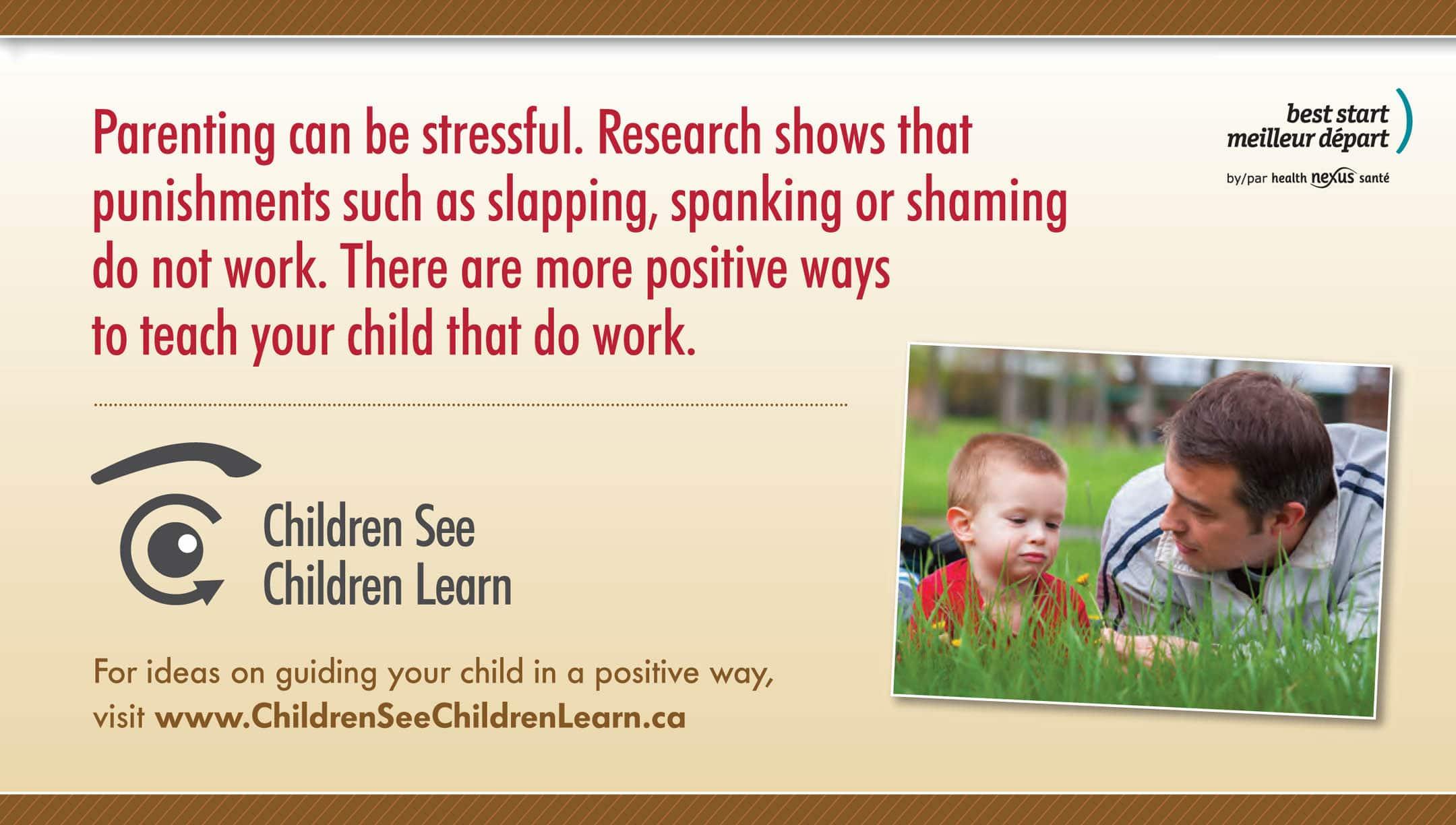 Children See Children Learn infographic