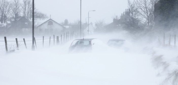 Picture of a snowstorm