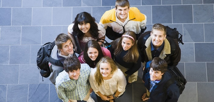 Picture of group of students