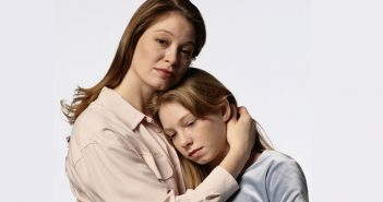 Mother Consoling Daughter
