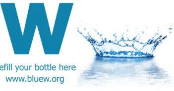 Refill water logo
