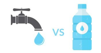 Icon for tap and bottled water