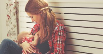 Image of woman breastfeeding