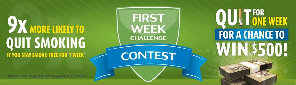 first-week-challenge