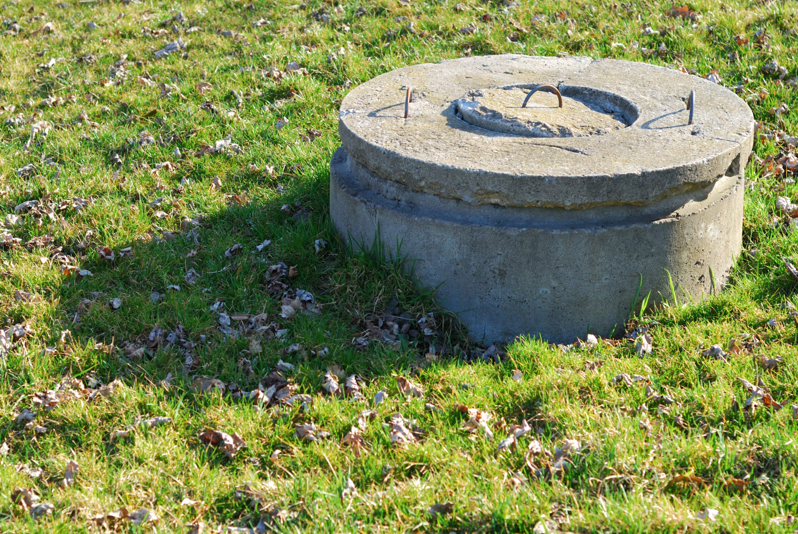 Image of concrete well