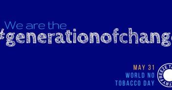 World No Tobacco Day Logo