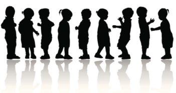 Children Silhoutte