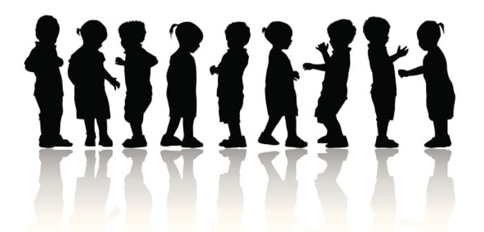 Children Silhoutte