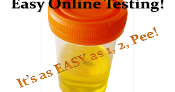 Picture of a urine sample
