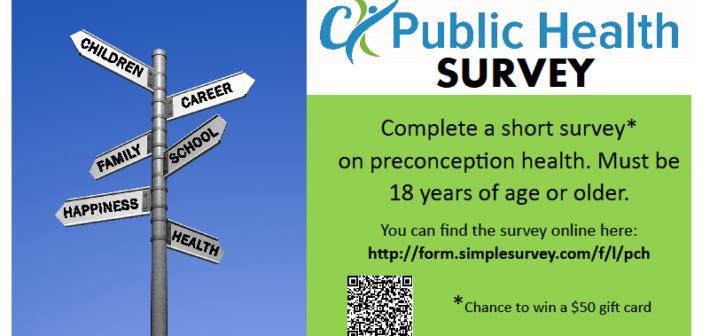 Preconception Health Survey
