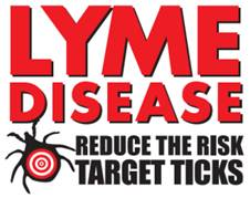 Reduce the risk of Lyme disease, target ticks