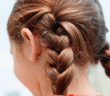 Image of a girl with braids