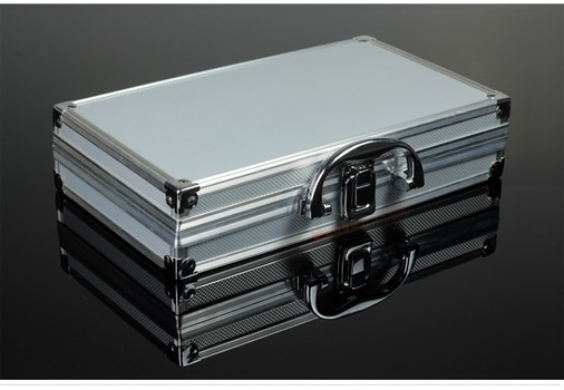 An image of a metal case