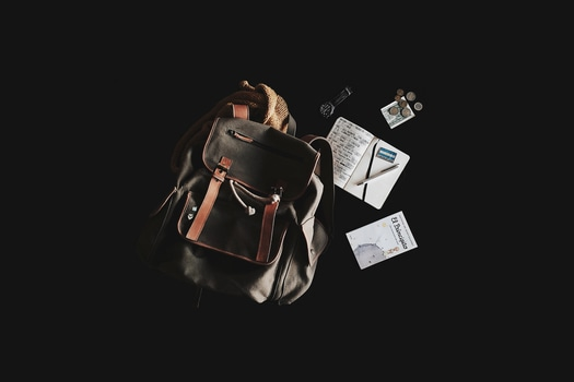 An image of a backpack