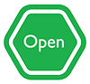 Image of an open sign