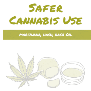 Safer cannabis use