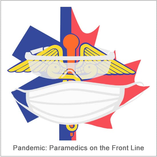 paramedic logo with mask
