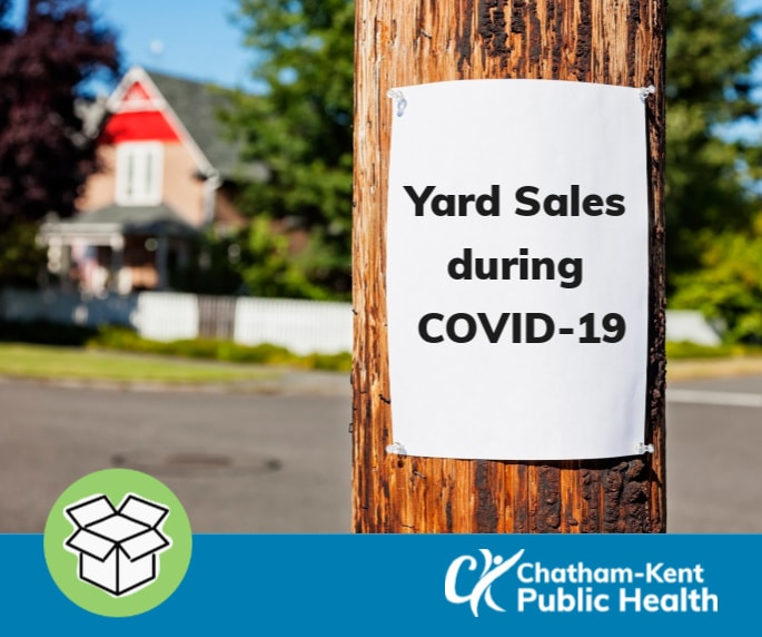 Yard sales during COVID-19