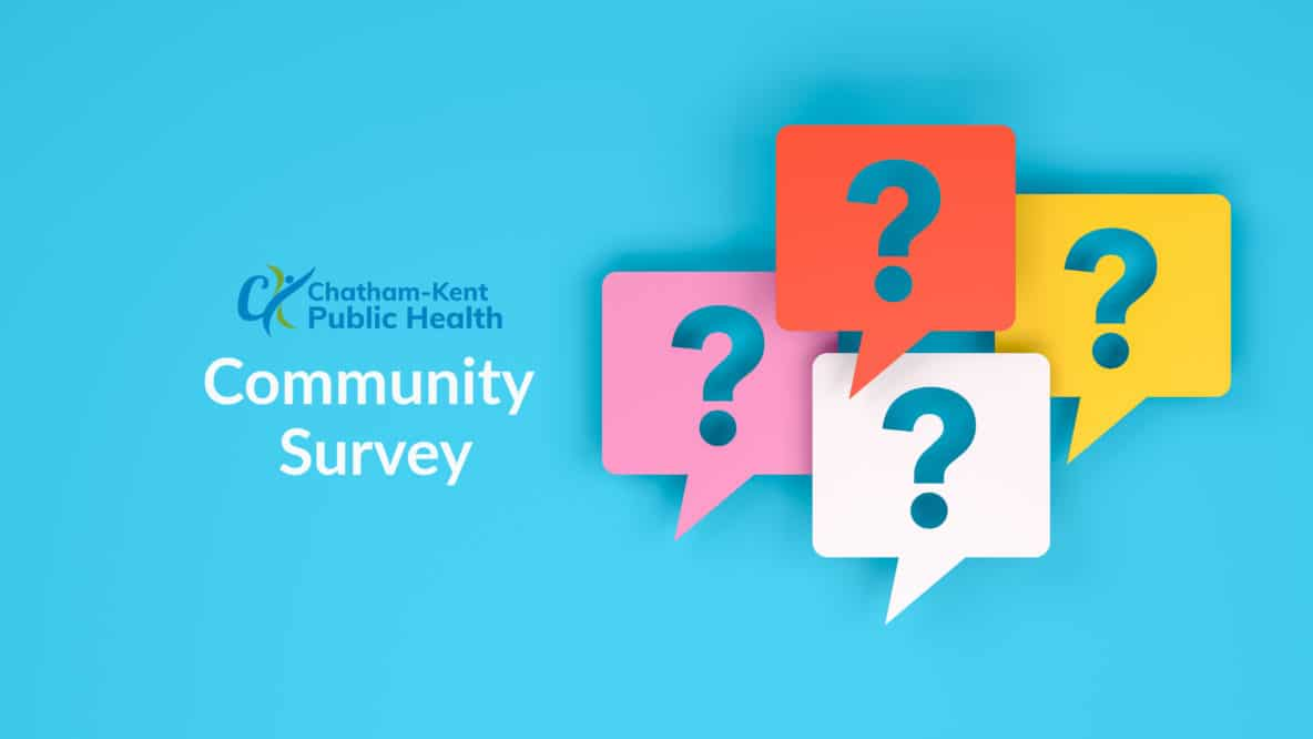 community survey with question mark balloons