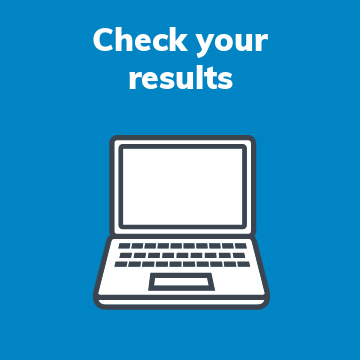 check your results